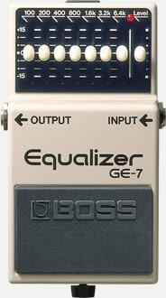 pedale equalizer