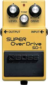 pedale overdrive