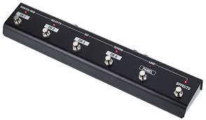 pedalier amplificateur de guitare electrique